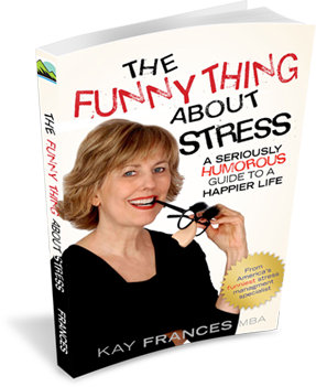 The Funny Thing About Stress Book Cover